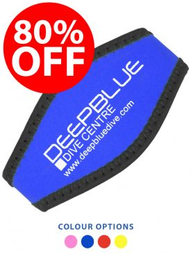 CLEARANCE - 80% OFF - Deep Blue Neoprene Mask Strap