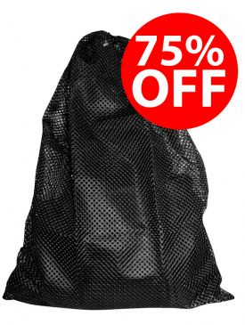 CLEARANCE - 75% OFF - DBE Mesh Bag Black ( 64cm x44cm)