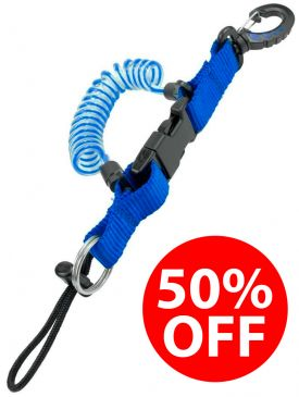 50% OFF - DBE Quick Release Lanyard - Blue