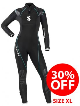 CLEARANCE 30% OFF - Scubapro Definition 5.0 Wetsuit - Ladies XL