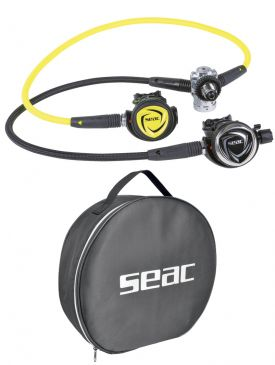 Seac Sub DX200 Ice Set Incl Octopus & Reg Bag