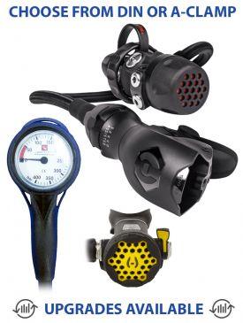 Hollis 500SE + DC7 Regulator, 100LX Octopus & Gauge