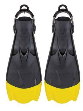 Hollis F1 Yellow Tip Fins