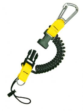 ISC Snappy Coil With Carabiner
