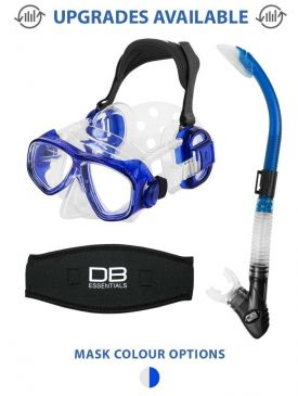 IST Pro Ear Mask and Snorkel Package