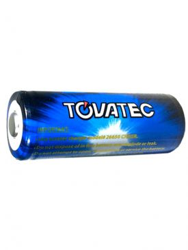 Tovatec Li-ion 26650-A Rechargeable Battery