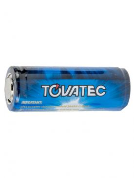 Tovatec Li-ion 26650 Rechargeable Battery