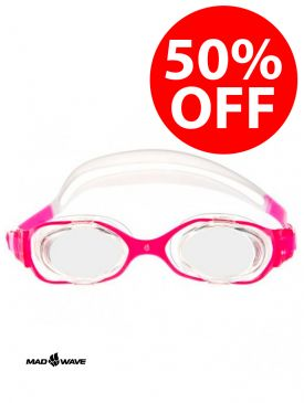 50% OFF - Mad Wave Precize Goggles - Pink