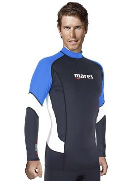 Mares Mens UPF 50+ Long Sleeve Rash Vest
