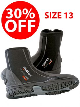 CLEARANCE - 30% OFF - Mares Flexa DS 5mm Boot - Size 13
