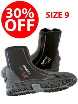CLEARANCE - 30% OFF - Mares Flexa DS 5mm Boot - Size 9