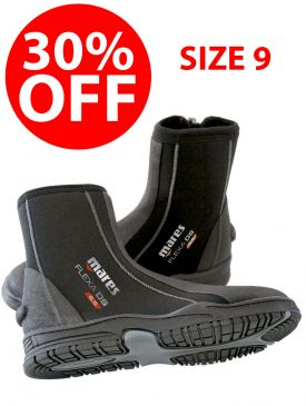 CLEARANCE - 30% OFF - Mares Flexa DS 6.5mm Boot - Size 9