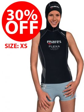 CLEARANCE - 30% OFF - Mares 5/3mm Flexa Vest Womens - XS