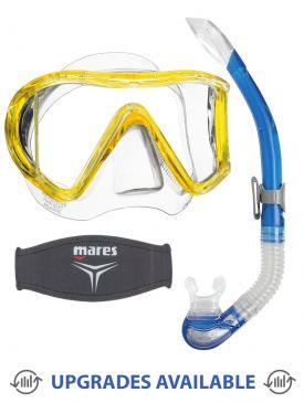 Mares i3 Mask, Snorkel & Mask Strap