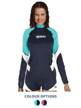 Mares Loose Fit Long Sleeve Rash Guard Womens