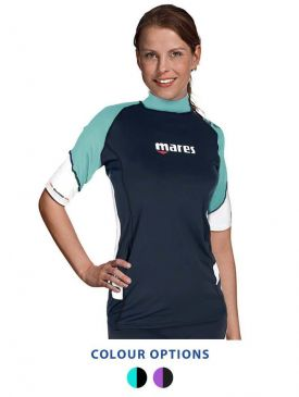 Mares Loose Fit Short Sleeve Rash Guard Womens