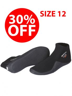 CLEARANCE - 30% OFF  - Mares Pure 2mm Dive Boots - Size 12