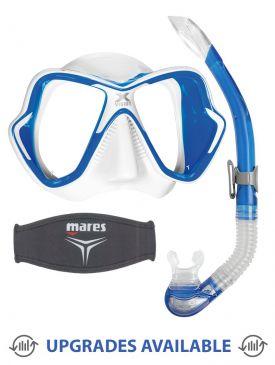 Mares X-Vision Ultra Liquidskin Mask, Snorkel & Mask Strap