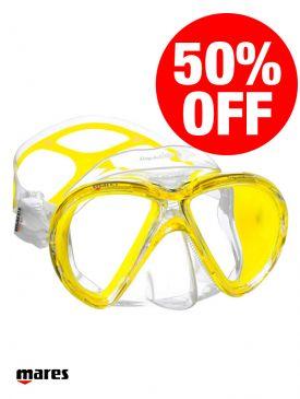 CLEARANCE - 50% OFF - Mares X-Vu Liquidskin Mask Yellow