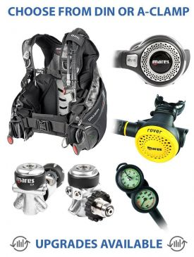 Mares Dragon BCD & MR22 Abyss Reg Package