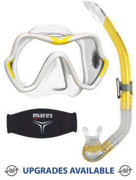 Mares One Vision Mask, Snorkel & Mask Strap
