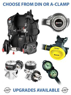 Mares Pure SLS BCD & Abyss 22X Reg with Rover Octo Package