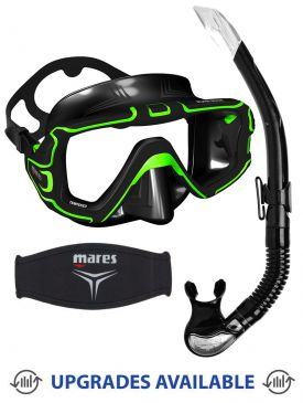 Mares Pure Edge Mask, Snorkel & Mask Strap