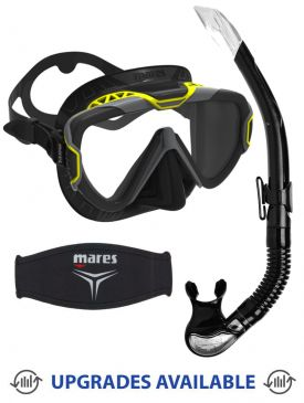 Mares Pure Wire Mask, Snorkel & Mask Strap