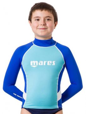 Mares Rash Guard UPF 50+ Long Sleeve Junior Boys