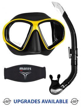 Mares Sealhouette Mask, Snorkel & Mask Strap