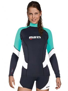 Mares She Dives UPF 50+ Long Sleeve Rash Guard