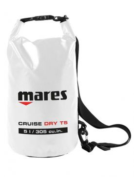 Mares T5 Cruise Dry Bag - White - 5L