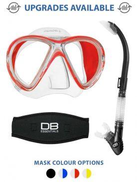 Mares X-Vu Liquid Skin Mask & Snorkel Package