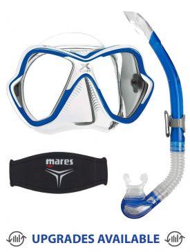 Mares X-Vision Mask, Snorkel & Mask Strap