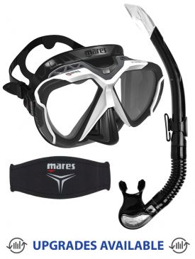 Mares X-Wire Mask, Snorkel & Mask Strap