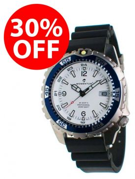 30% OFF - CLEARANCE - Momentum M1 Deep 6 Watch