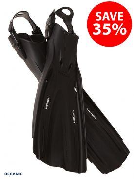 BLACK FRIDAY - Oceanic Viper Open Heel Fins - 35% OFF