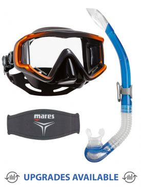 Scubapro Crystal Vu Mask, Snorkel & Mask Strap