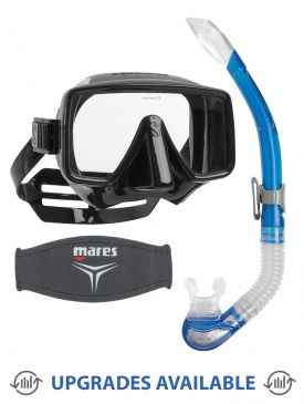 Scubapro Frameless Dive Mask, Snorkel & Mask Strap