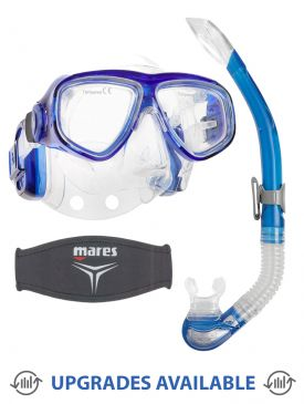 Scubapro Pro Ear 2000 Mask, Snorkel & Mask Strap