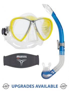 Scubapro Synergy 2 Mask, Snorkel & Mask Strap