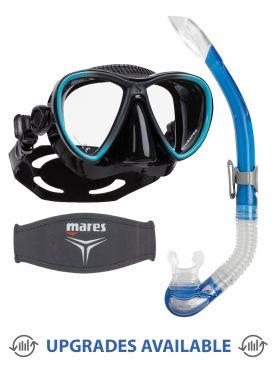 Scubapro Synergy Twin Trufit Mask, Snorkel & Mask Strap