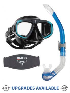 Scubapro Zoom Evo Mask, Snorkel & Mask Strap