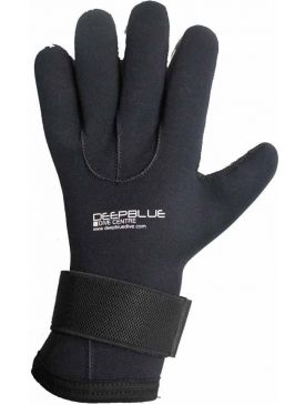Deep Blue 5mm Gloves-Xx-large