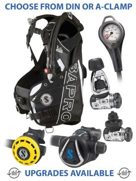 Scubapro Bella BCD, MK17 EVO/C370 Reg, R195 Octopus & Gauge