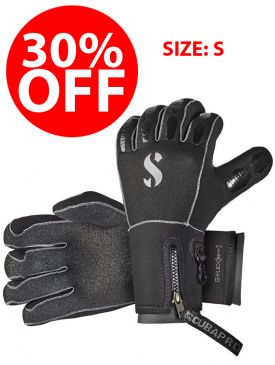 CLEARANCE - 30% OFF - Scubapro G-Flex Grip Gloves 5.0 - Size S