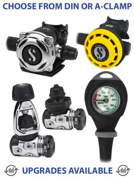 Scubapro MK17 EVO/A700 Regulator with R195 Octopus & Gauge