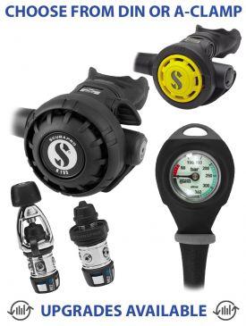 Scubapro MK2 EVO/R195 Regulator, R095 Octopus & Gauge