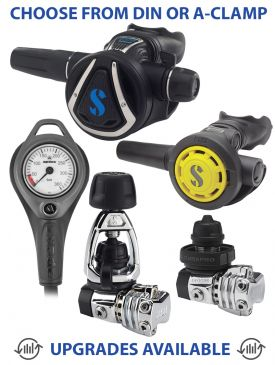 Scubapro MK21 / C370 Regulator, R095 Octopus & Gauge