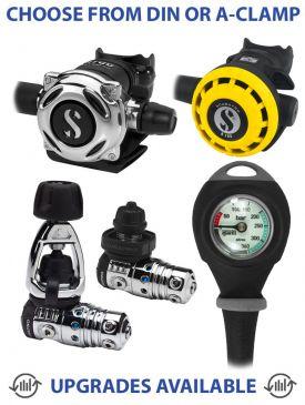 Scubapro MK25 Evo/A700 Regulator with R195 Octopus & Gauge